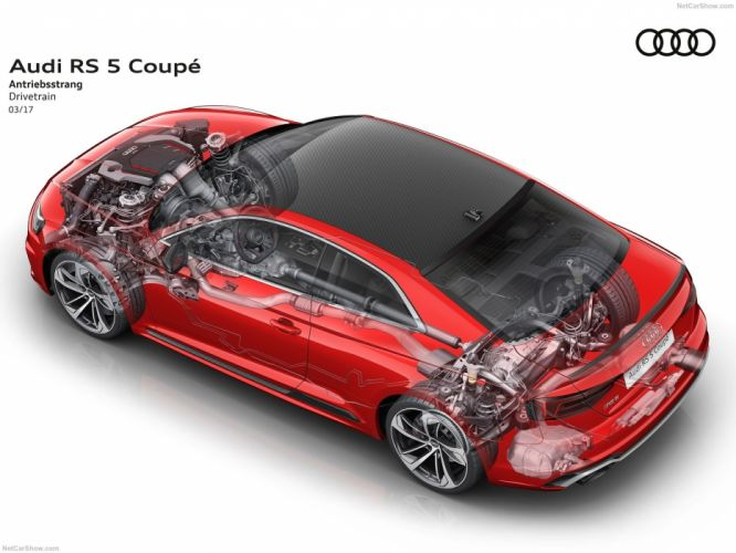 Audi RS5 Coupe cars cutaway 2017 wallpaper
