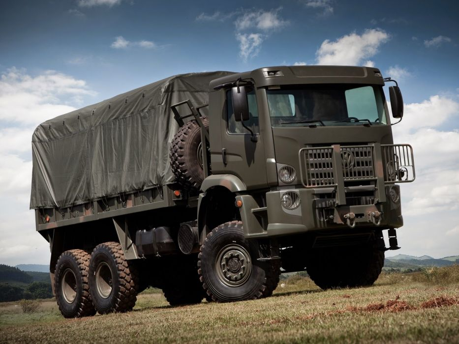 volkswagen constellation camion militar wallpaper