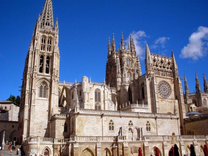 Catedral Burgos espay wallpaper
