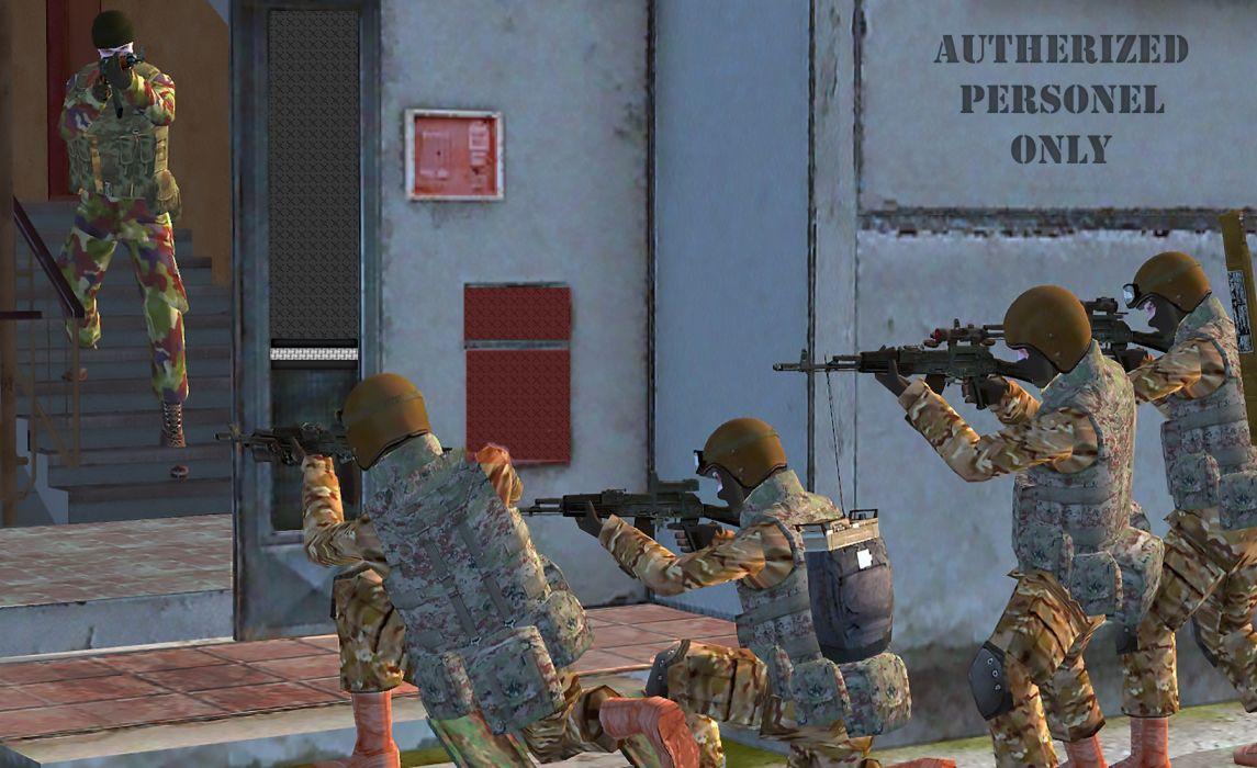 Military Assault Group wallpaper