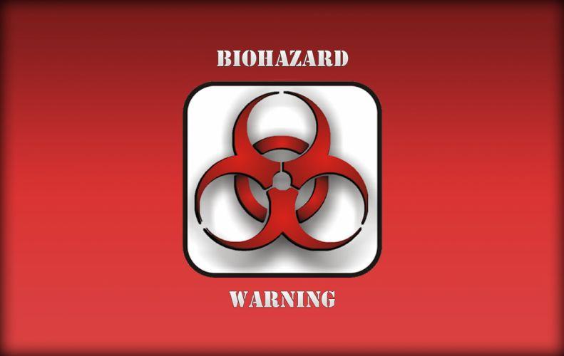 Biohard Warning wallpaper