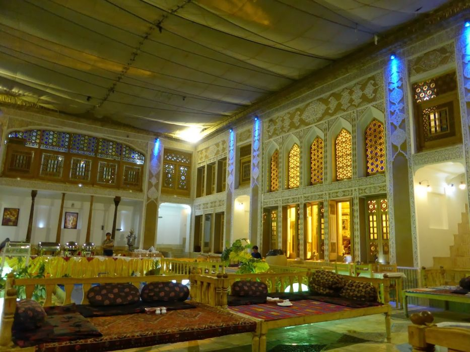 interior casa arabe arcos disey wallpaper