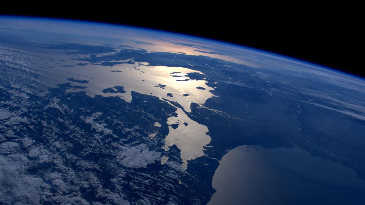 earth space greece bulgaria turkey serbia mediterranean black sea wallpaper