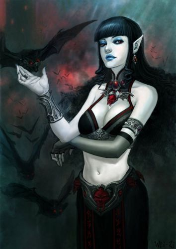 2d character girl woman witch fantasy wallpaper