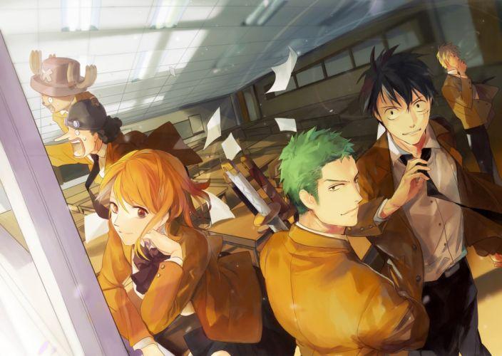 one piece original anime series group zis wallpaper