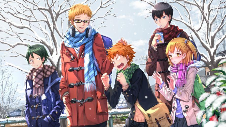 haikyuu swordsouls group anime group series boys wallpaper