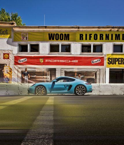 Porsche 718 Cayman S 982 wallpaper