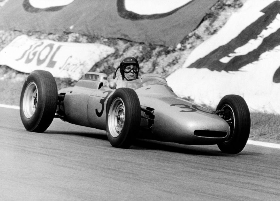 Porsche 804 Classic Race Car Gran Prix wallpaper