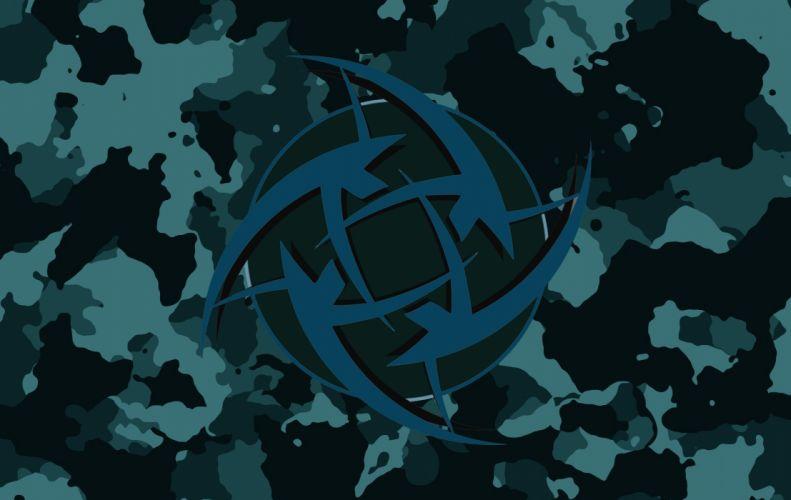 Blue Combatives wallpaper