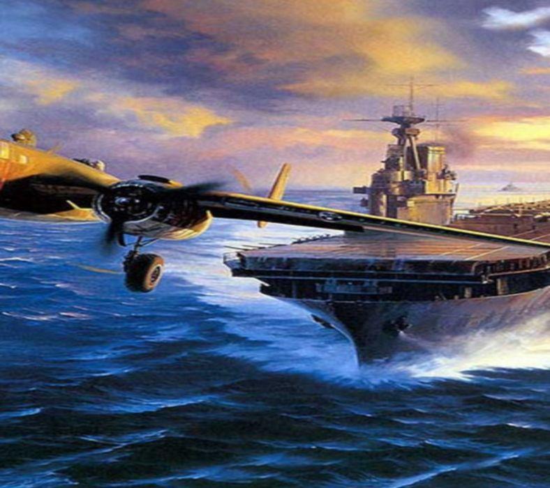 Aircraft Caeeier wallpaper