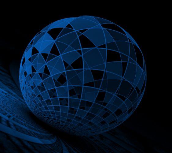 Blue Sphere wallpaper