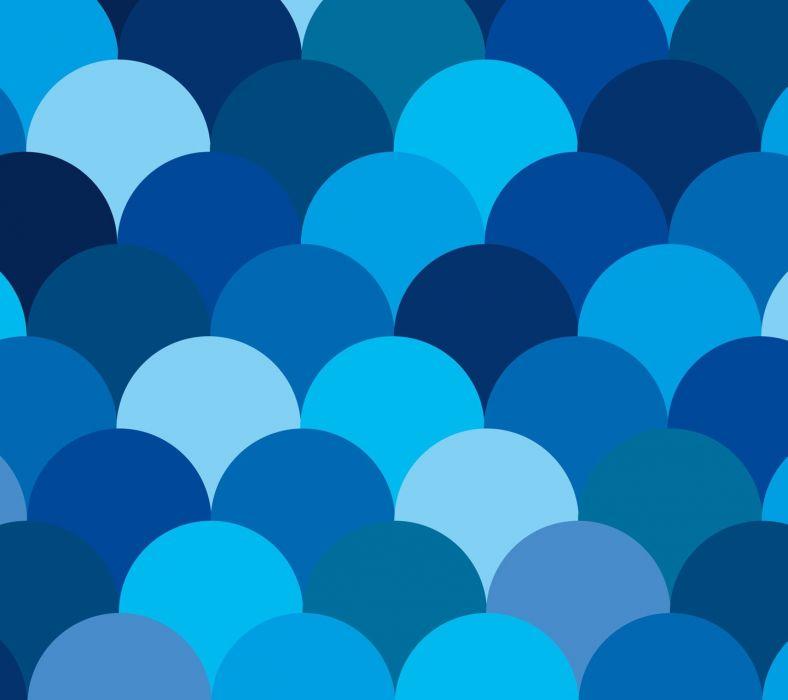 Minimal Blues wallpaper