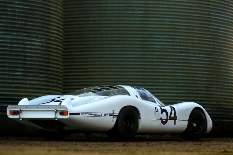 Porsche 907 Langheck LH Classic Race Car wallpaper