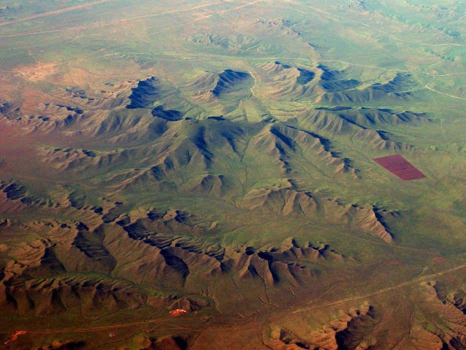 Asia Mongolia naturaleza valle montay wallpaper