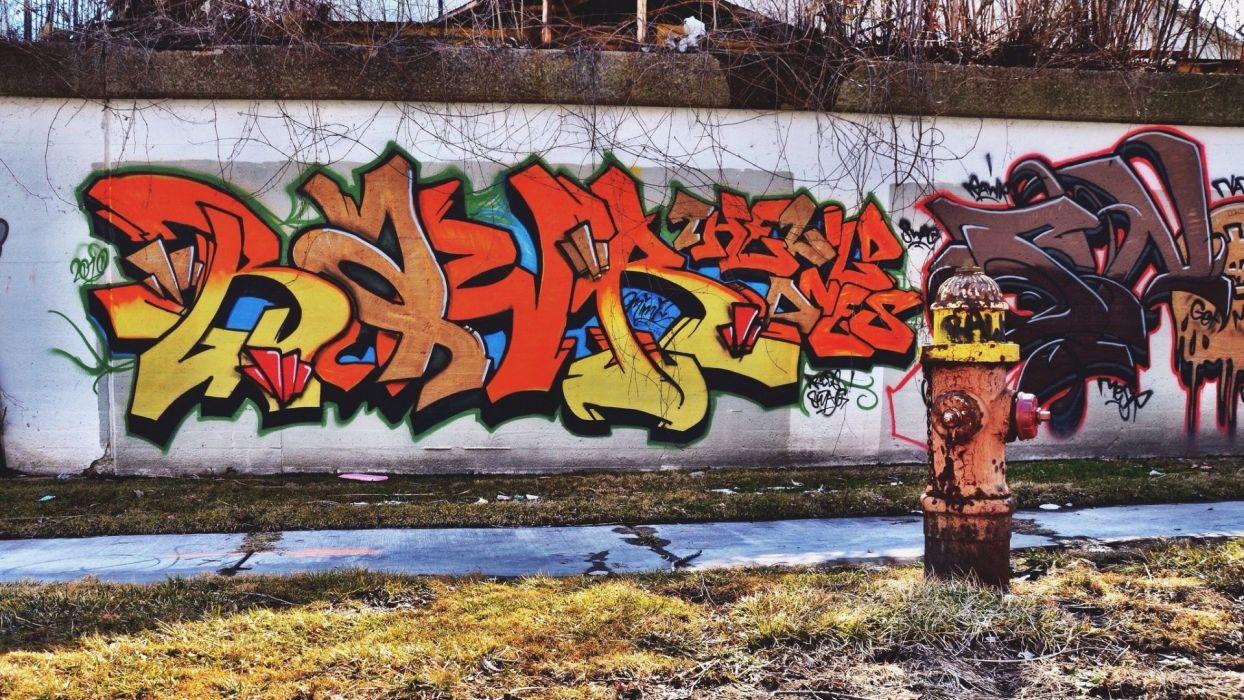 Grafiti wallpaper