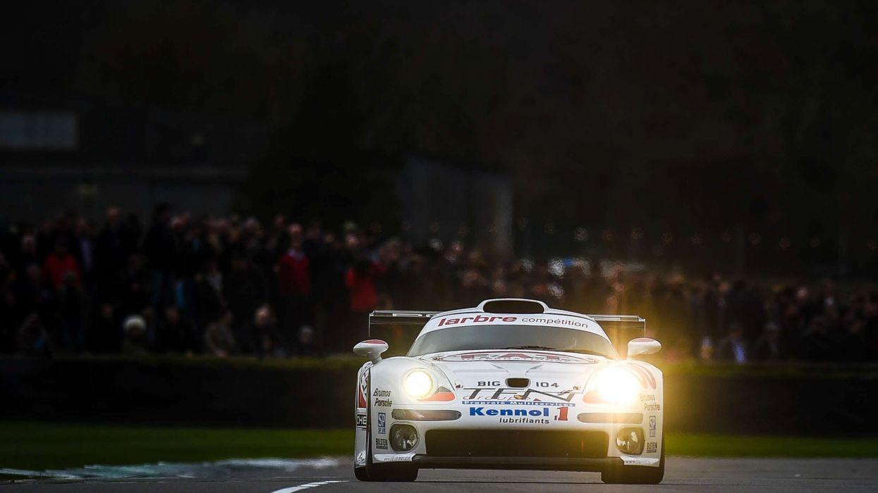 Porsche 911 GT1 993 Classic Race Car wallpaper