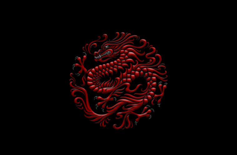 Red Dragon wallpaper