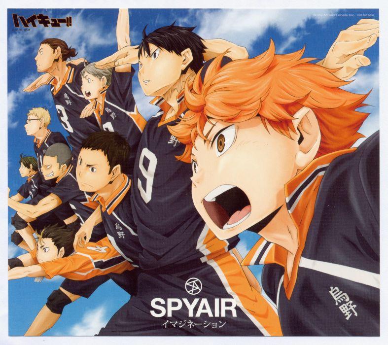 Haikyuu!! Series Tobio Kageyama Character Ryuunosuke Tanaka Character wallpaper