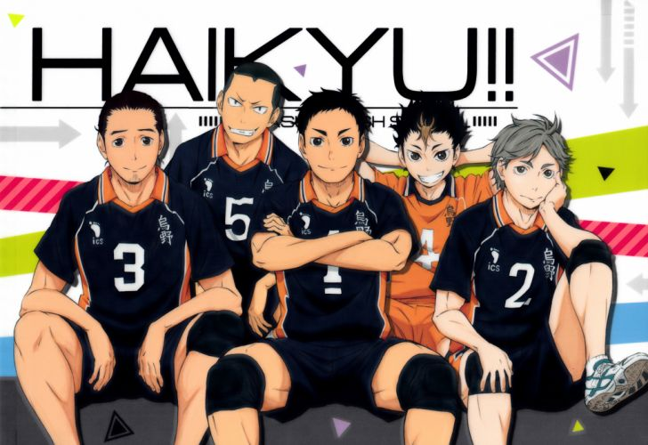 group Haikyuu!! Series Asahi Azumane Character Daichi Sawamura Character wallpaper