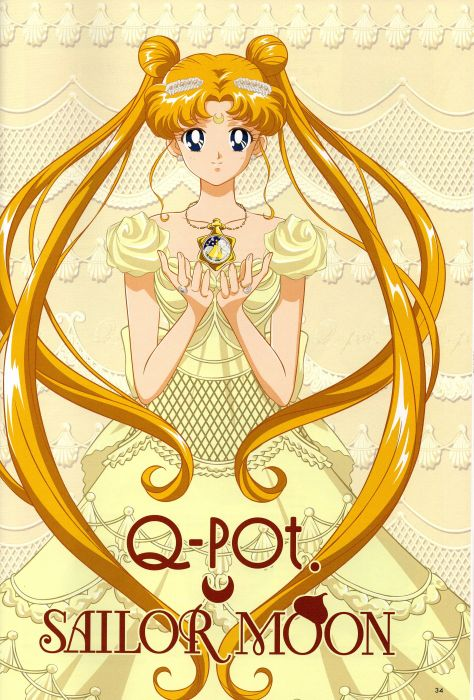 Bishoujo Senshi Sailor Moon Series Princess Serenity Character wallpaper