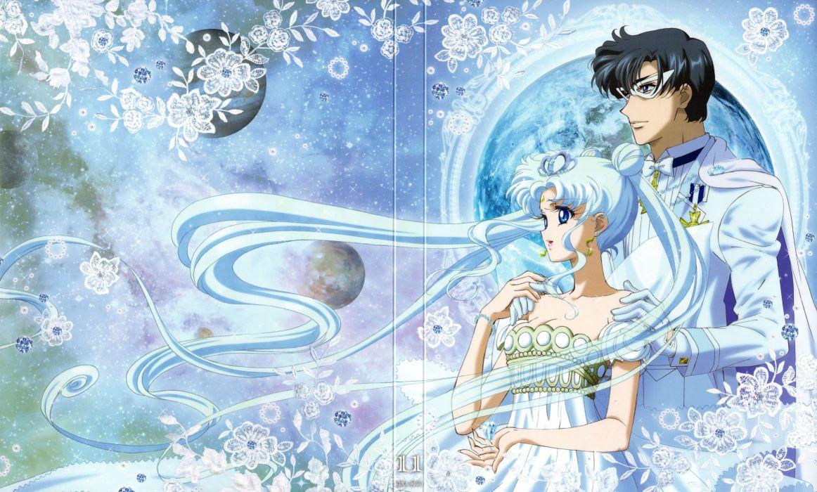 Bishoujo Senshi Sailor Moon Series King Endymion Character Neo-Queen Serenity Character wallpaper
