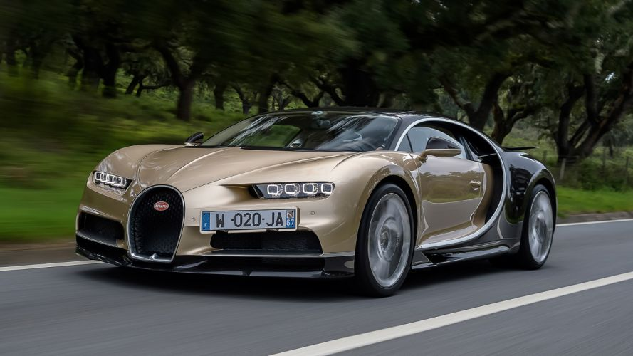 2017 Bugatti Chiron cars supercars wallpaper