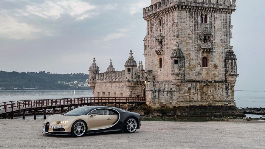 2017 Bugatti Chiron cars supercars wallpaper