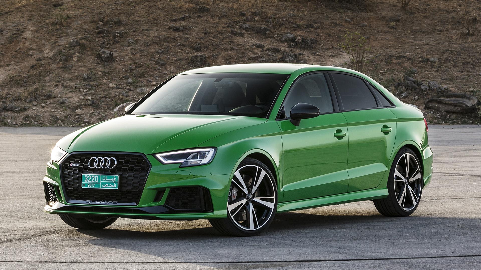 2017 Audi Rs3 Sedan Green Wallpaper 1920x1080 1083307