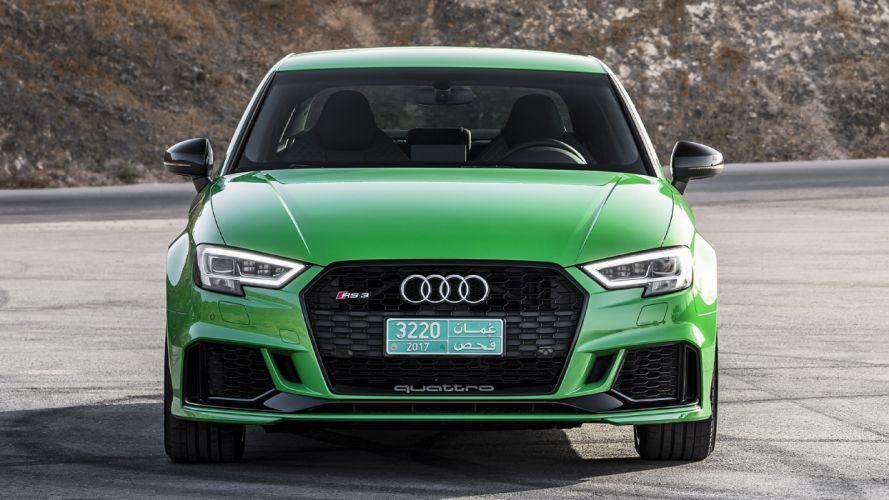 2017 Audi RS3 Sedan green wallpaper