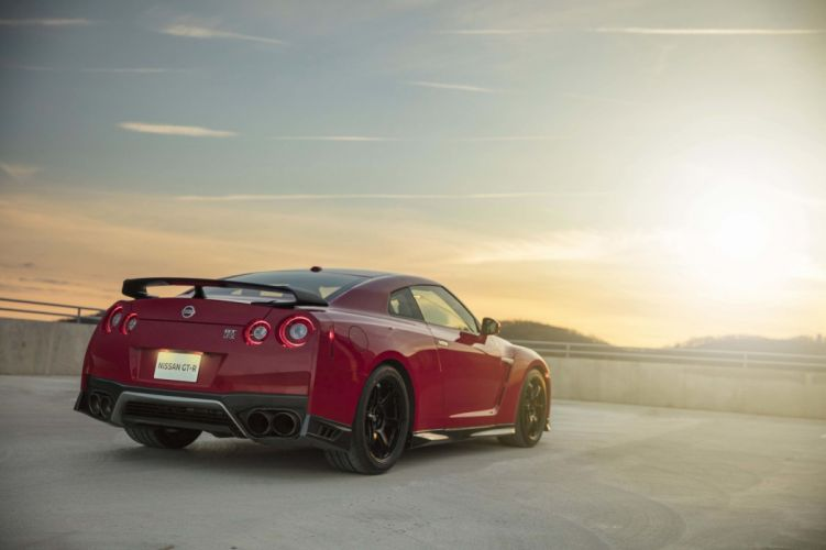 2017 Nissan GT-R Track Edition godzilla cars red wallpaper