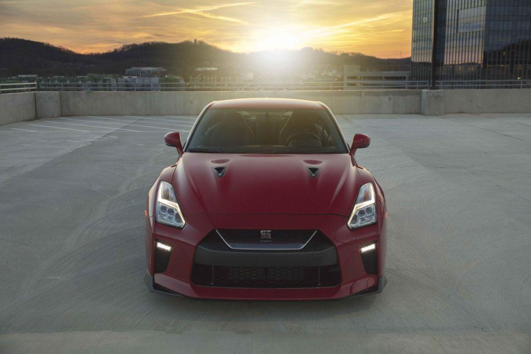 2017 Nissan GT-R Track Edition godzilla cars red wallpaper