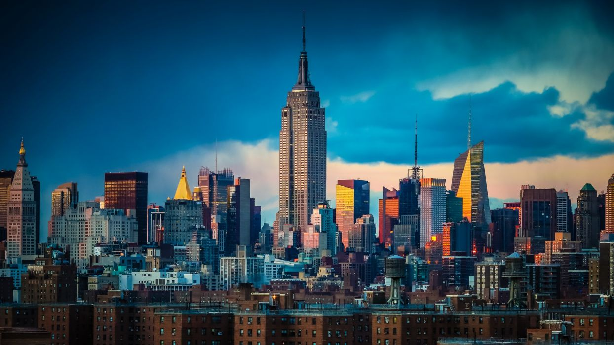 Manhattan new york wallpaper