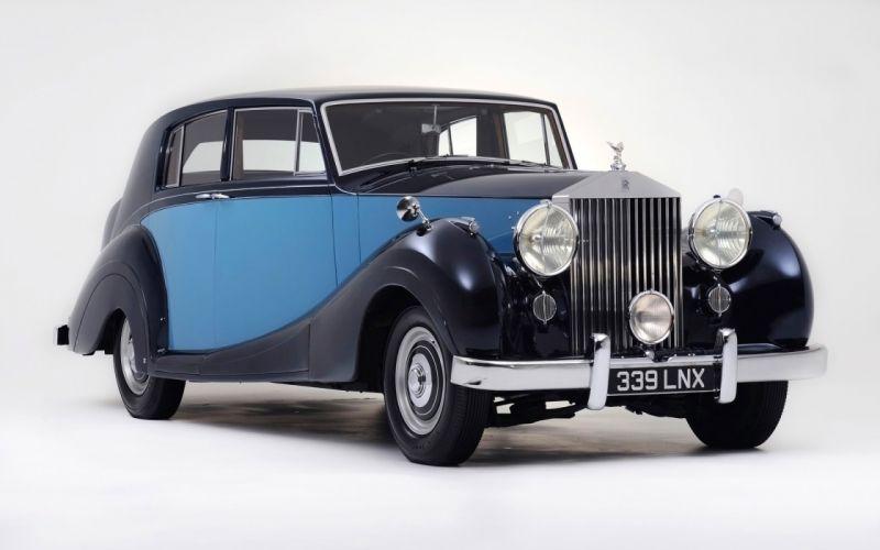 1950 Rolls-Royce Silver Wraith wallpaper