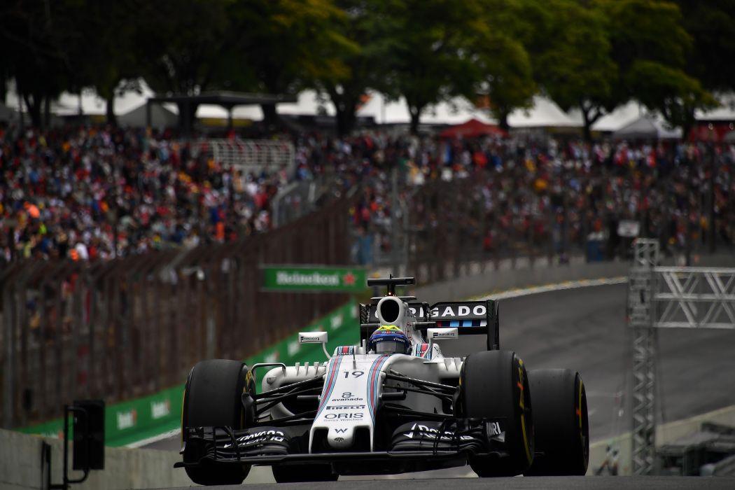 Williams-Martini FW38 2016 Formula One Brazil Final Race wallpaper