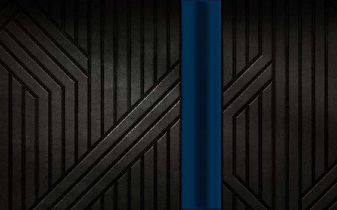 Thin Blue Line wallpaper