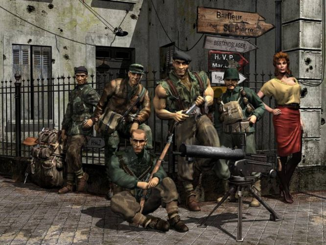 commandos video juego accion wallpaper