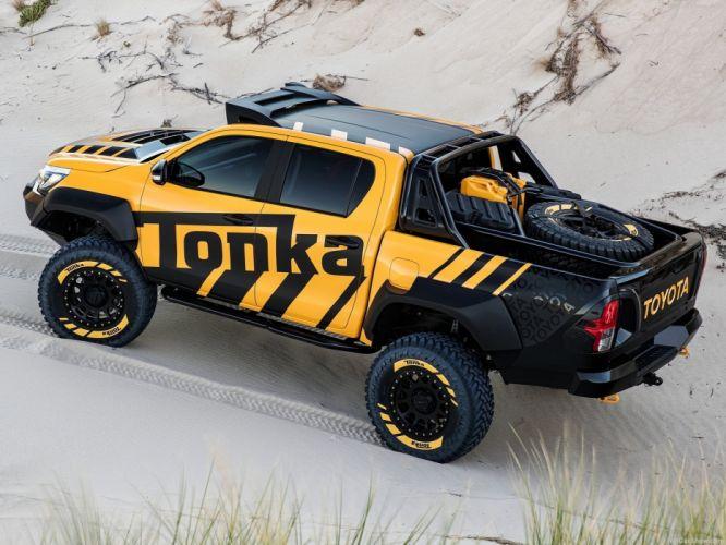 Toyota HiLux Tonka pickup truck Concept 2017 wallpaper