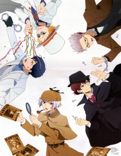 Hamatora Series Nice (Hamatora) Character Murasaki (Hamatora) Character Art (Hamatora) Character wallpaper