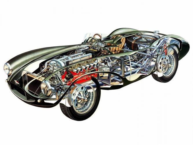 Aston Martin DB3S-9 Classic Race Car wallpaper