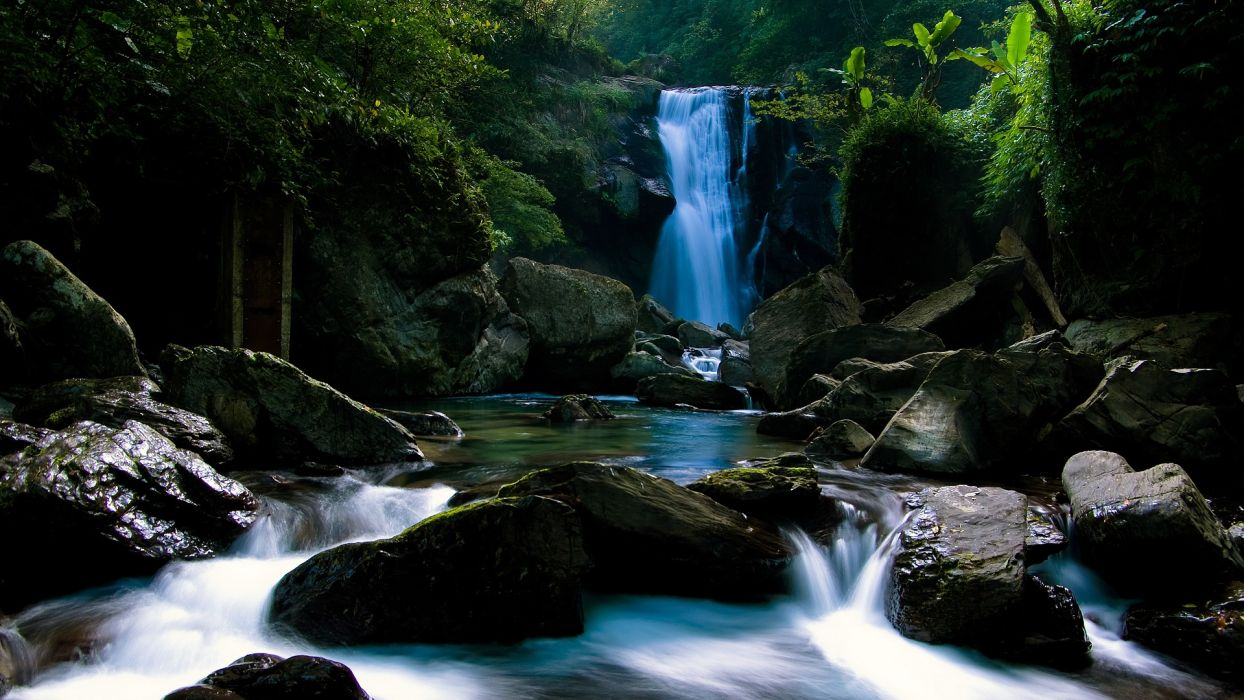 Photography nature-waterfall-river-water wallpaper