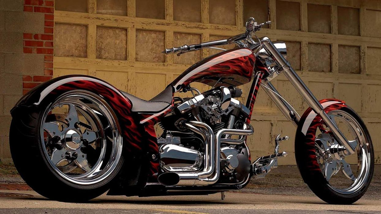 motorcycles-yamaha-chopper wallpaper