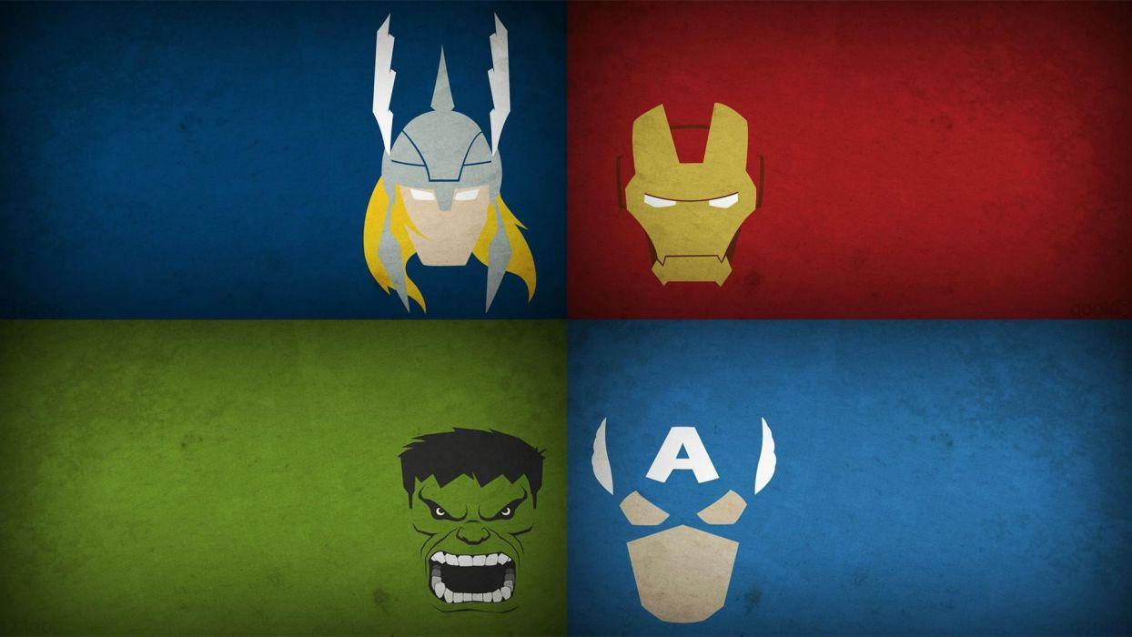 the-avengers-avengers-iron-man-thor-captain-america-hulk wallpaper