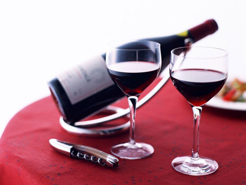 vinos mesa copa vidrios wallpaper