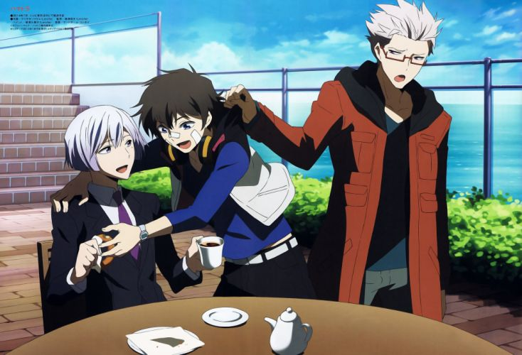 hamatora character anime series group guys wallpaper
