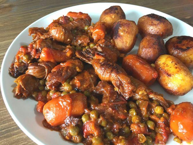 emplatado comida verduras carnes wallpaper