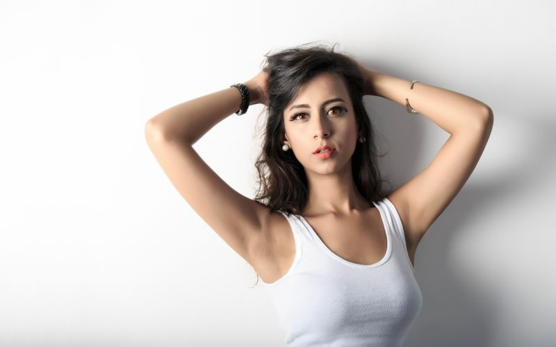 SHIKSHA ARORA bollywood actress celebrity model girl beautiful brunette pretty cute beauty sexy hot pose face eyes hair lips smile figure indian wallpaper