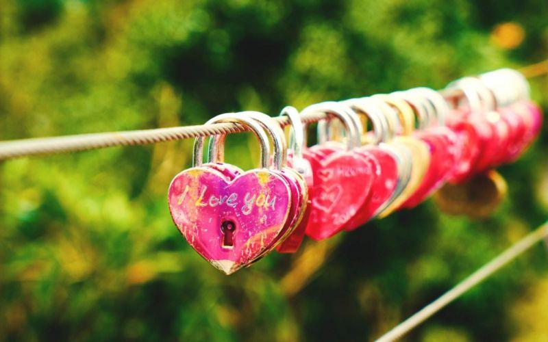 Locks Of Love wallpaper
