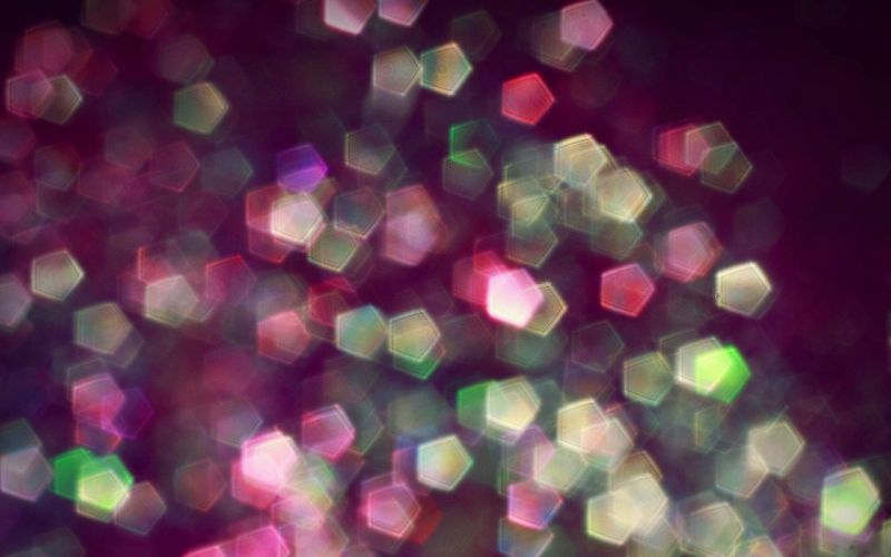 Orb Light Colorful Background wallpaper