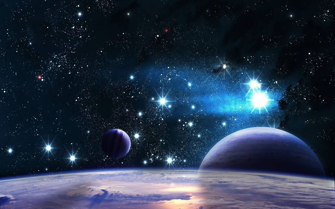 Universe space stars wallpaper