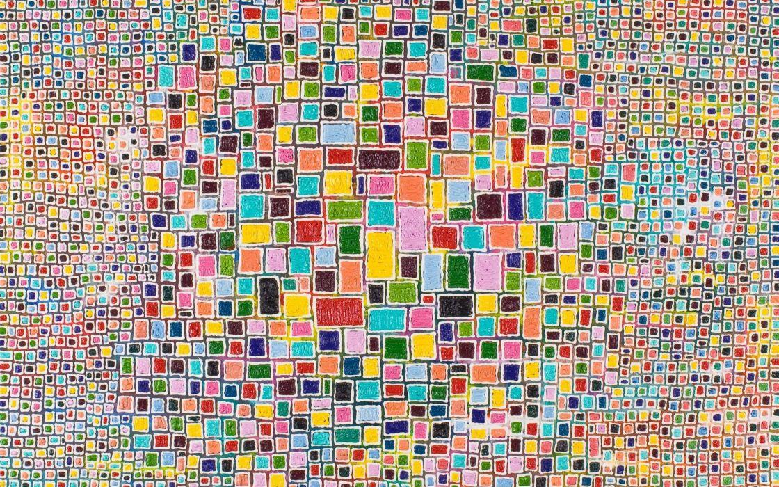 Mosaic Pattern Colorful Background wallpaper